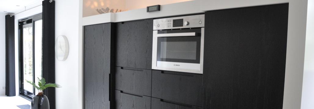Zwarte Keuken Met Wit Blad – Atumre.com
